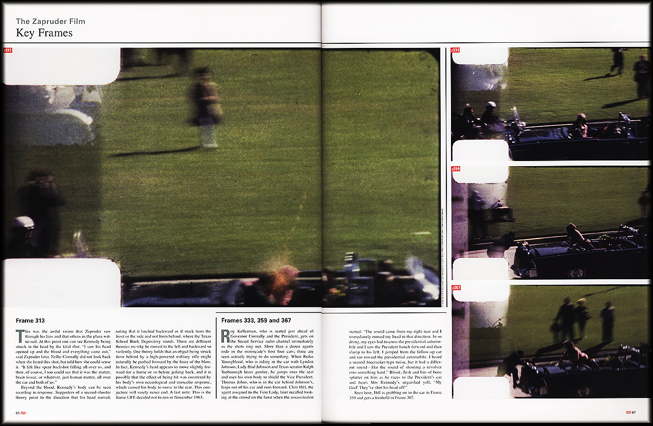 Niedlich Rahmen 313 Des Films Zapruder Fotos - Benutzerdefinierte ...